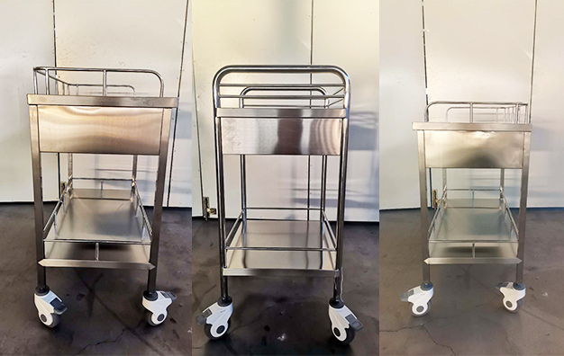 SS Instrument Trolley A