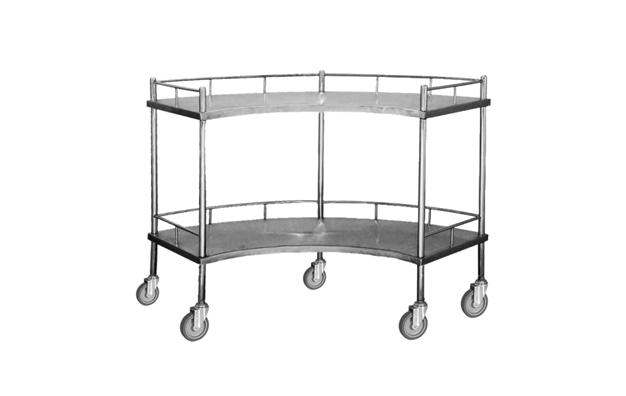 SS Fan-Shape Packing Table