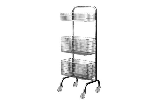 SS Transport Basket Trolley