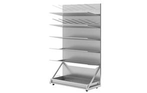 SS Bed Pan Shelf