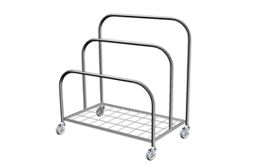 SS Paper Dispensing Trolley A