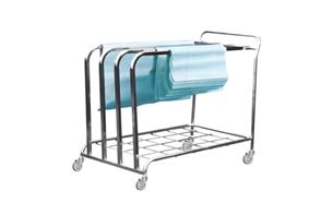 SS Paper Dispensing Trolley B