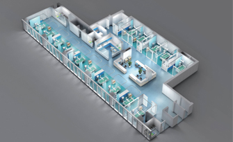 What kind of hospital furniture should the hospital be equipped with?